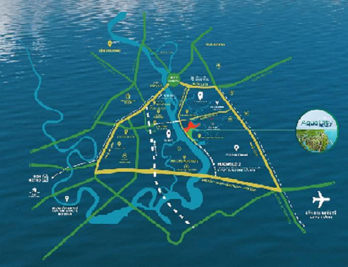 Khu đô thị thông minh Aqua City thúc đẩy bds Đồng Nai