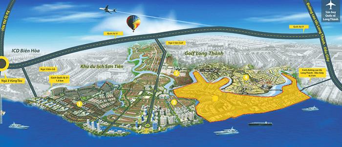 Khu đô thị thông minh Aqua City Đồng Nai